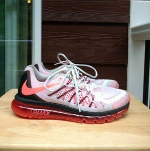 Nike Air Max 2015 Men's Crimson Running Shoes